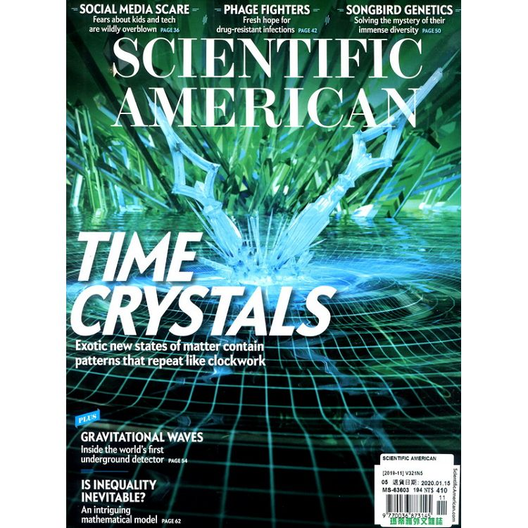 SCIENTIFIC AMERICAN 11月號_2019