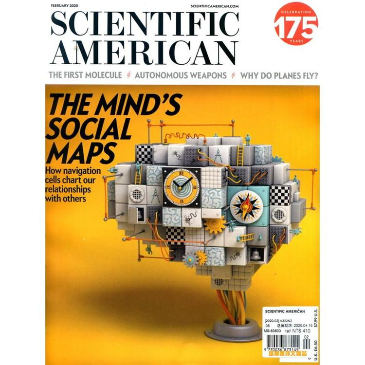 SCIENTIFIC AMERICAN 2月號_2020
