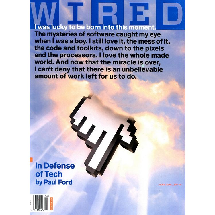 WIRED (US) 6月號_2019