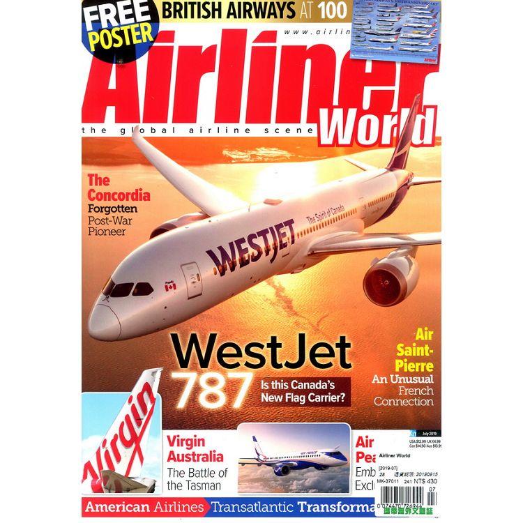 Airliner World 7月號_2019