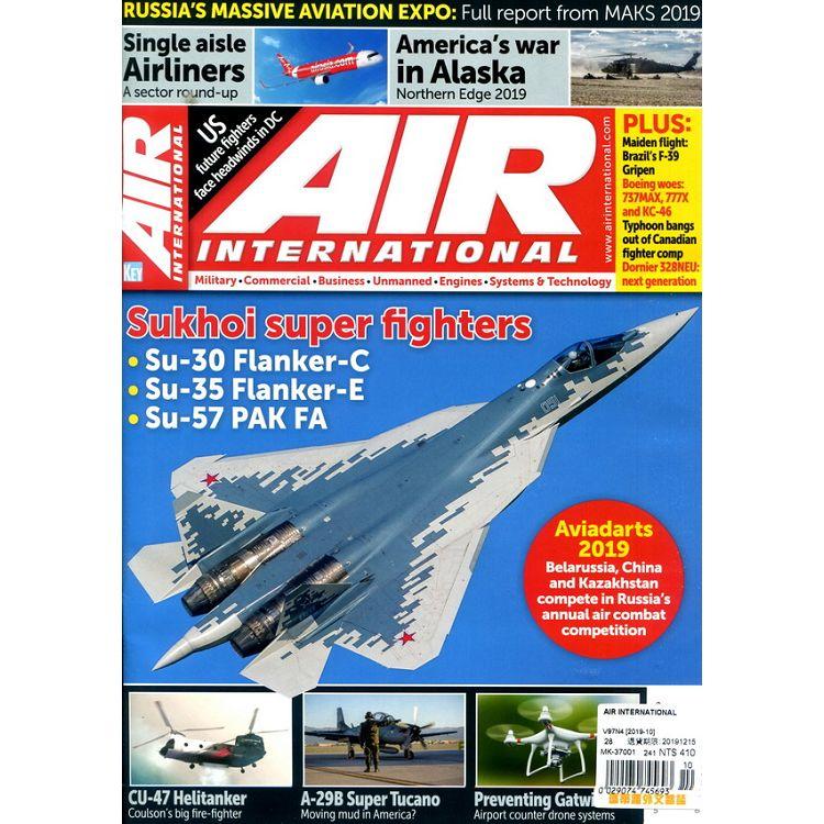 AIR INTERNATIONAL 10月號_2019
