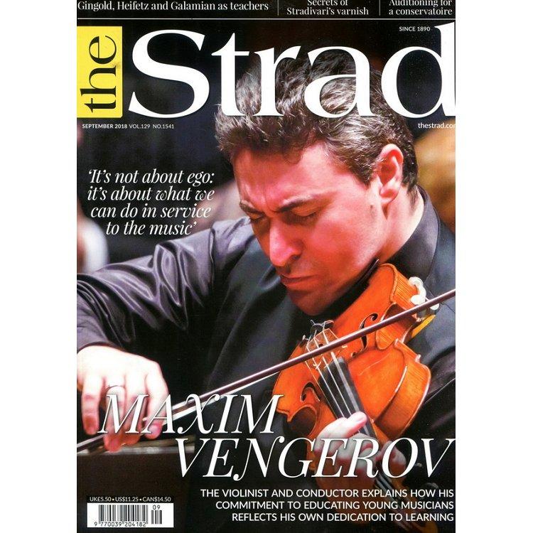 the Strad 9月號 2018