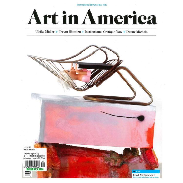 Art in America 11月號_2019