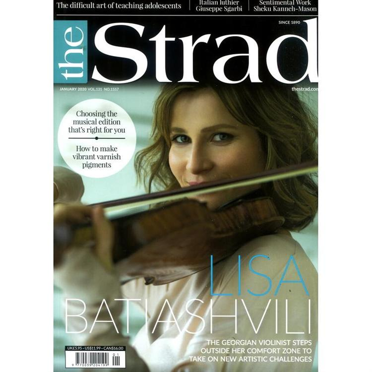 the Strad 1月號_2020