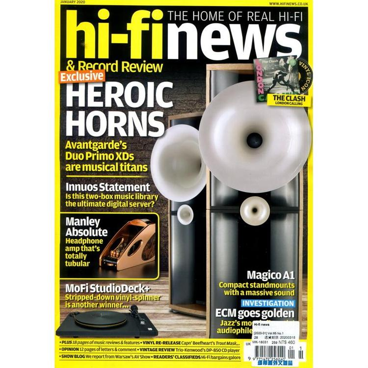 Hi-fi news 1月號_2020