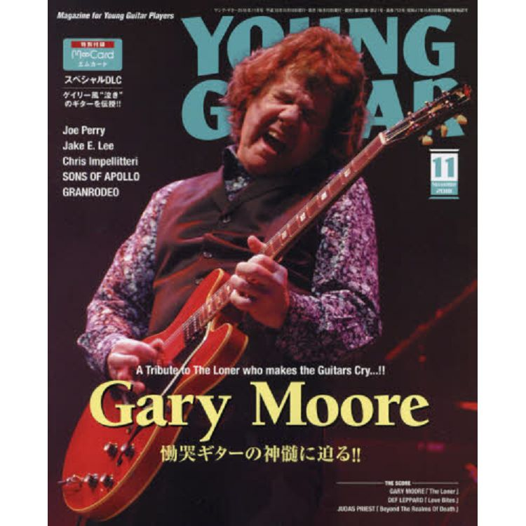 YOUNG GUITAR 11月號2018附M-CARD
