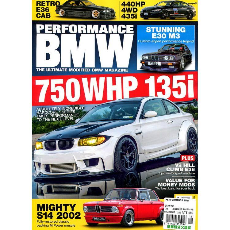 PERFORMANCE BMW 12月號 2018