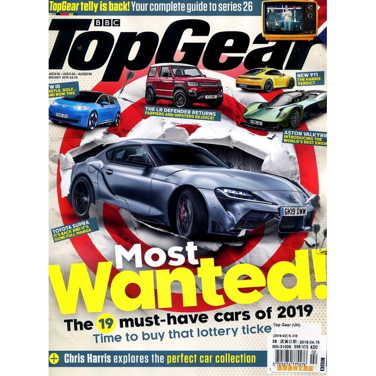 Top Gear (UK) 第318期 2月號_2019