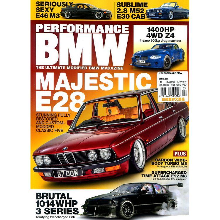 PERFORMANCE BMW 3月號_2019