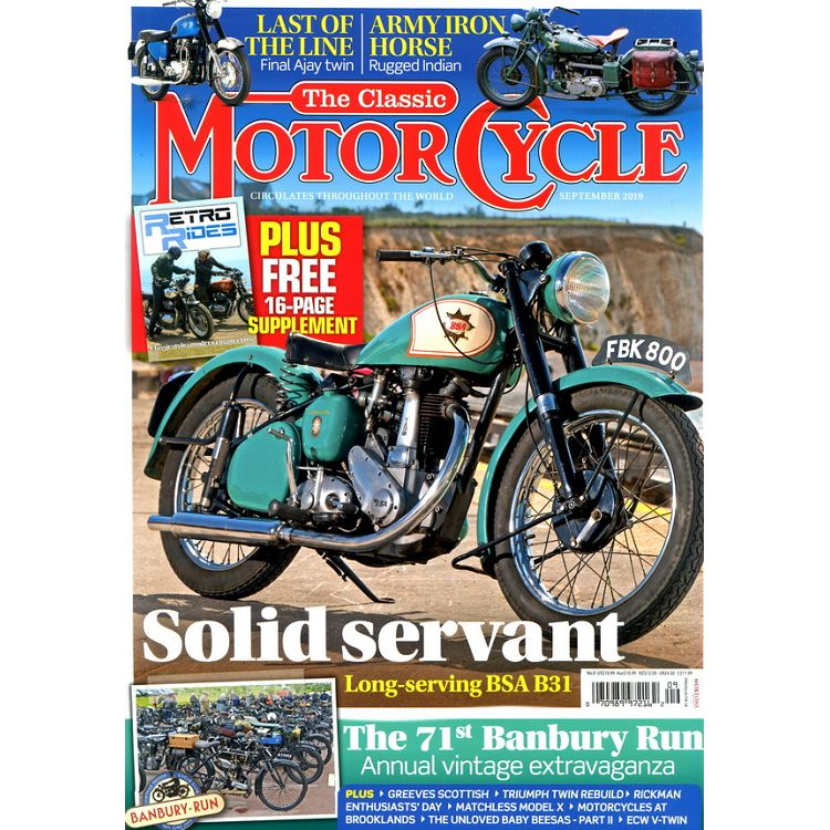 The Classic MOTORCYCLE 9月號_2019