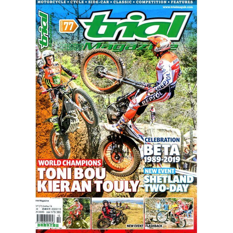 trial Magazine 第77期 10-11月號_2019