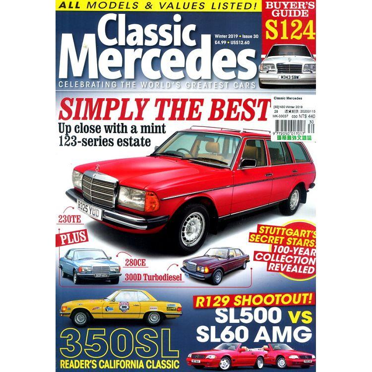 Classic Mercedes 第30期 冬季號_2019