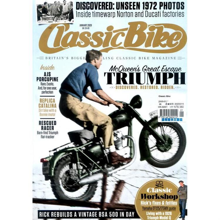 Classic Bike 1月號_2020