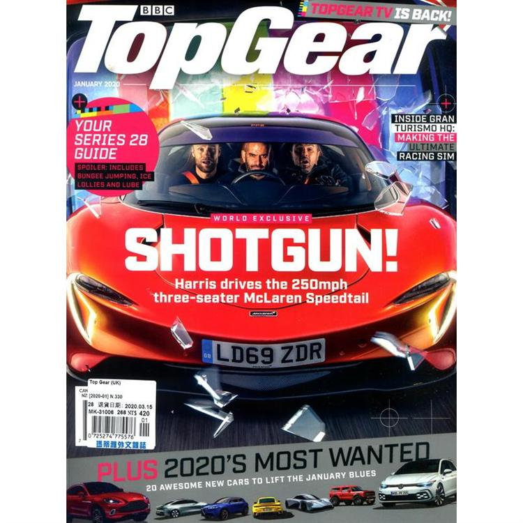 Top Gear (UK) 1月號_2020
