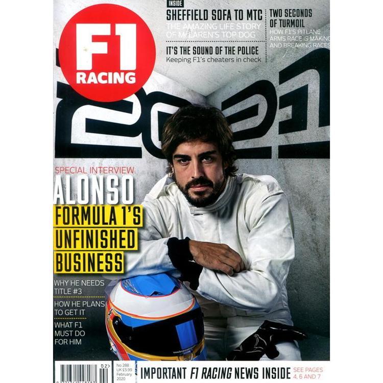 F1 RACING 第288期 2月號_2020
