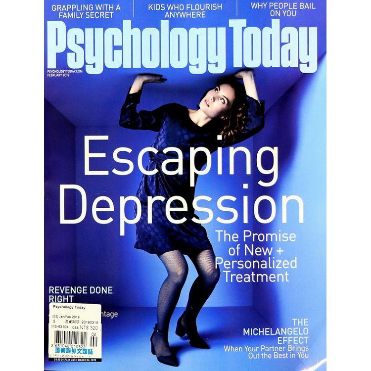Psychology Today 1-2月號 2019