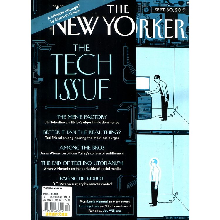 THE NEW YORKER 9月30日_2019