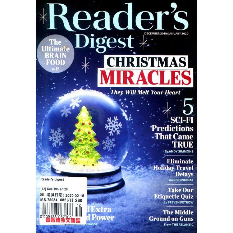 Reader`s digest 12-1月號_2019-2020