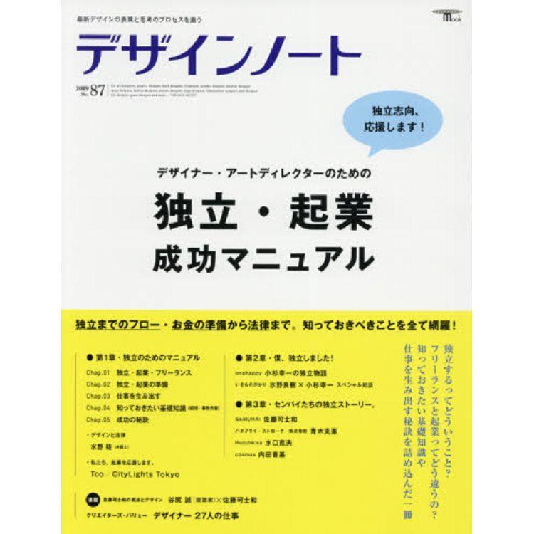 設計筆記 Vol.87