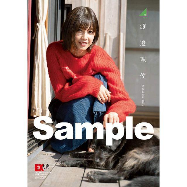 金石堂網路書店-EX大眾 12月號2018附渡邊理佐海報.資料夾