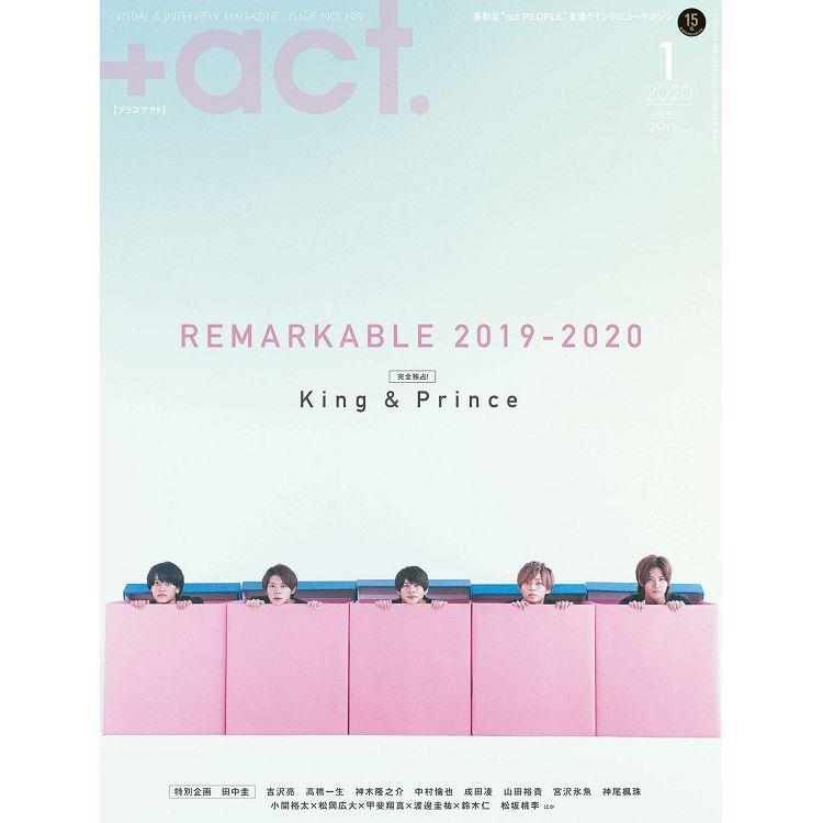 +act 1月號2020