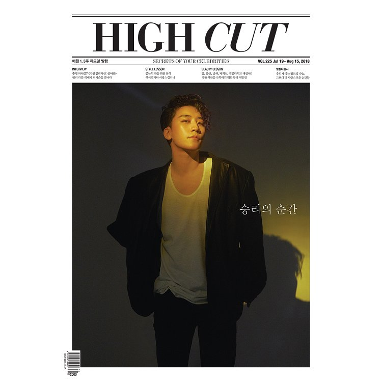 HIGH CUT Korea 2018第225期
