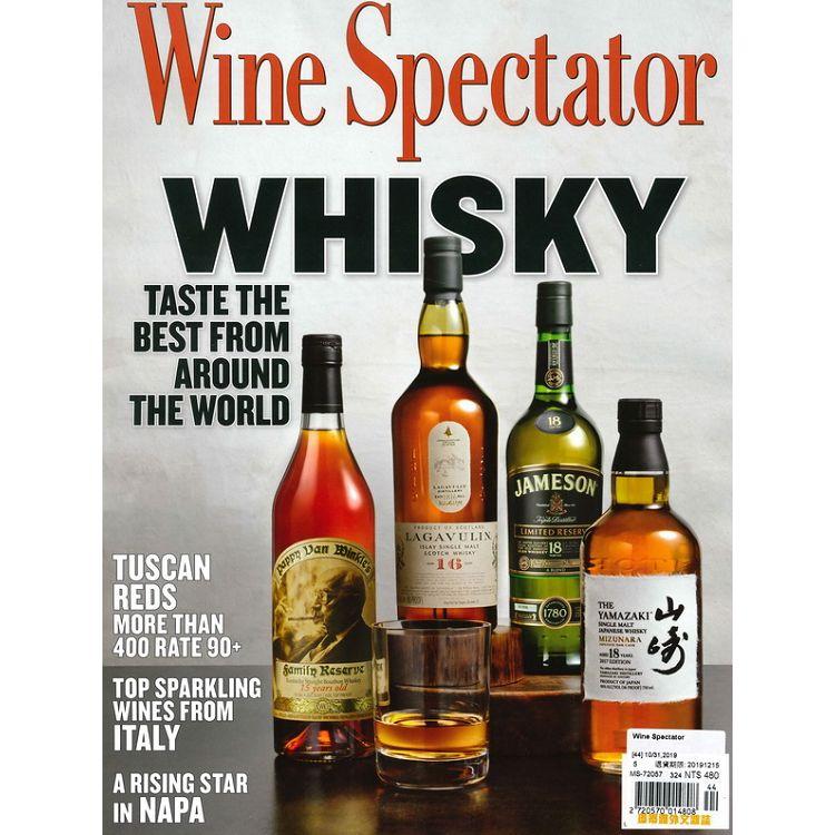 Wine Spectator 10月31日_2019