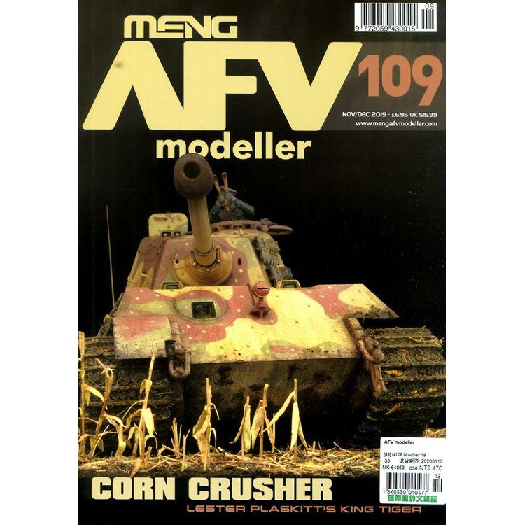 AFV modeller 第109期 11-12月號_2019