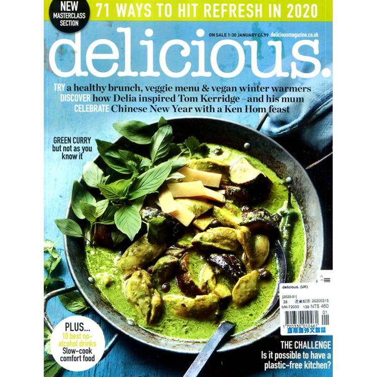 delicious. (UK) 1月號_2020