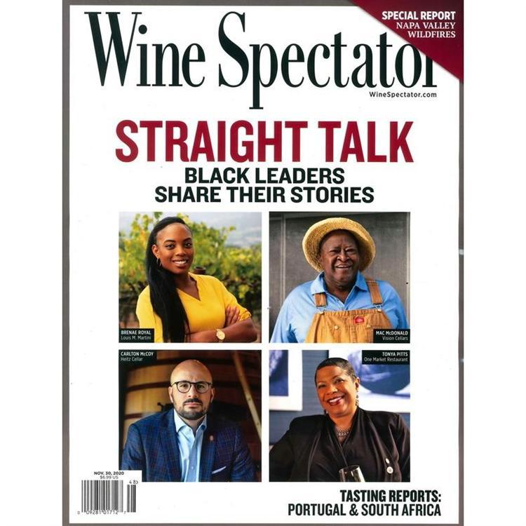 Wine Spectator 11月30日 2020