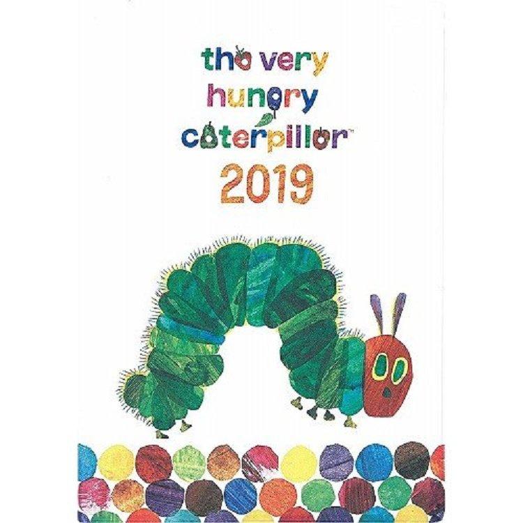 好餓的毛毛蟲記事手帳 繪本插畫版封面-大開本 2019年版