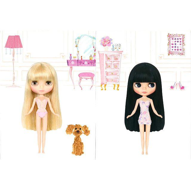 Blythe 碧麗絲娃娃換裝遊戲貼紙繪本