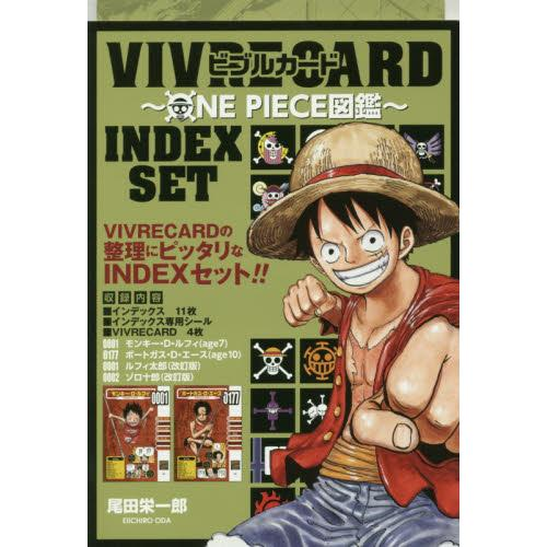 VIVRE CARD~ONE PIECE航海王圖鑑~INDEX SET
