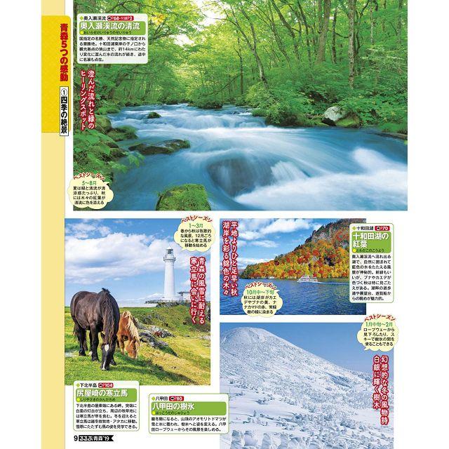 青森 弘前.八戶.奧入瀨旅遊指南 2019年版