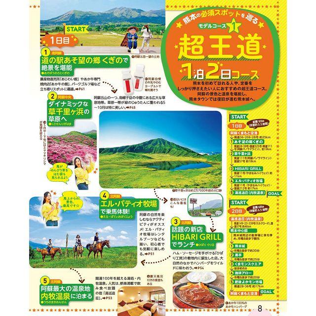 熊本阿蘇天草旅遊指南 2020 年版