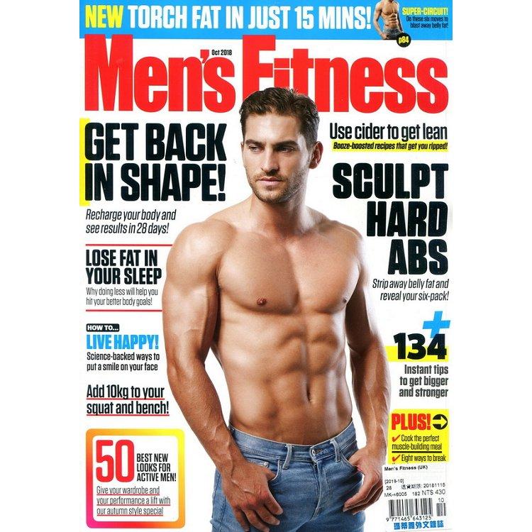 Men`s Fitness (UK) 10月號 2018