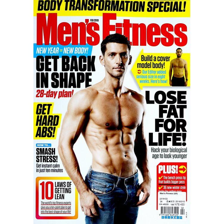 Men`s Fitness (UK) 2月號 2019
