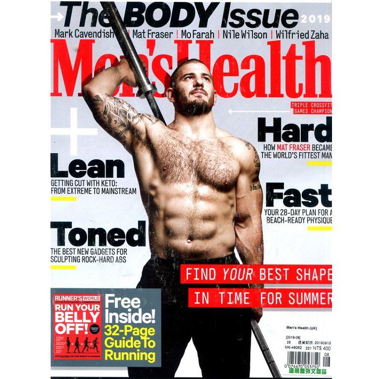 Men`s Health (UK) 8月號_2019