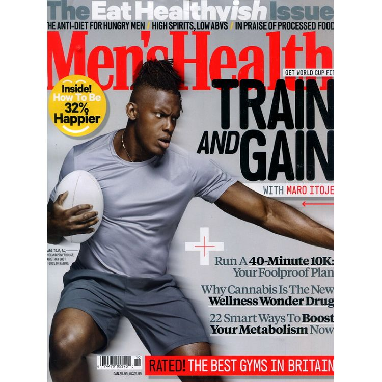 Men`s Health (UK) 10月號_2019