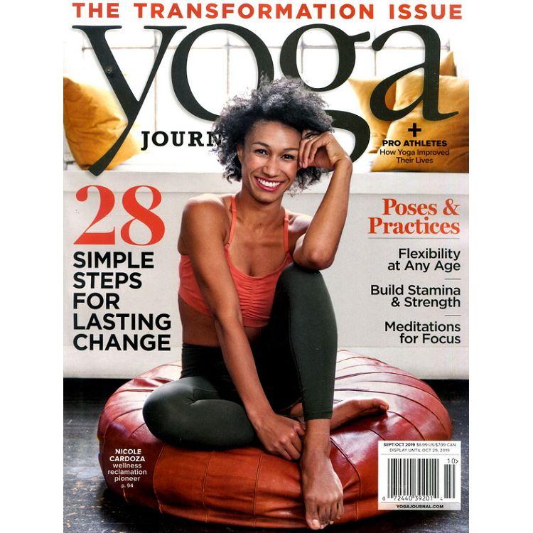 yoga JOURNAL 9-10月號_2019