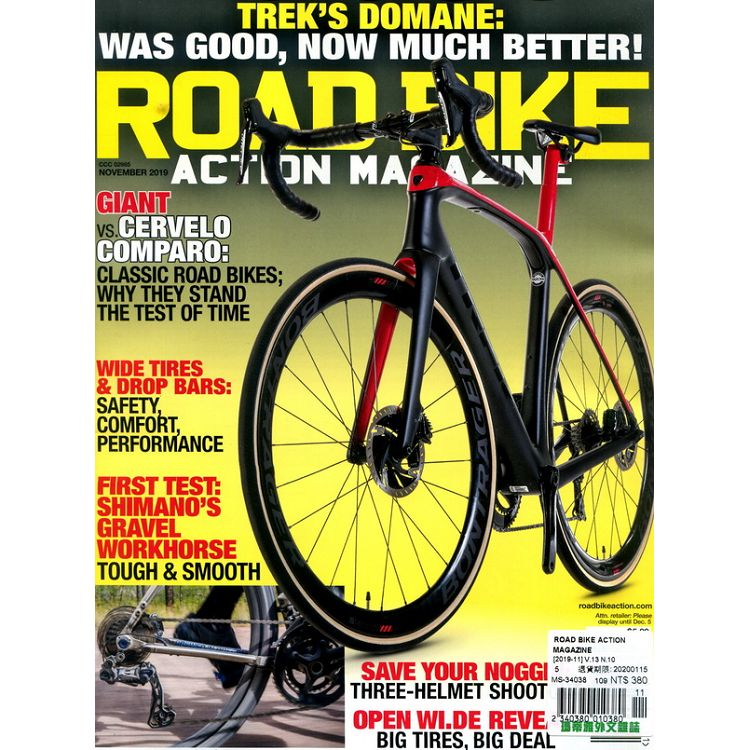 ROAD BIKE ACTION MAGAZINE 11月號_2019