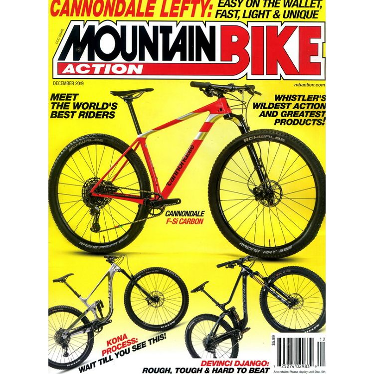 MOUNTAIN BIKE ACTION 12月號_2019