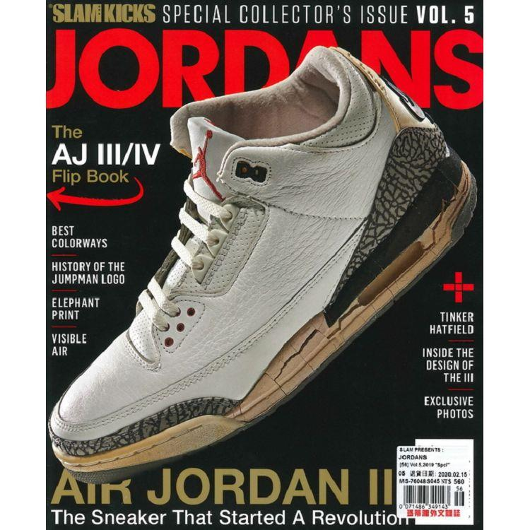 SLAM PRESENTS : JORDANS Vol.5_2019
