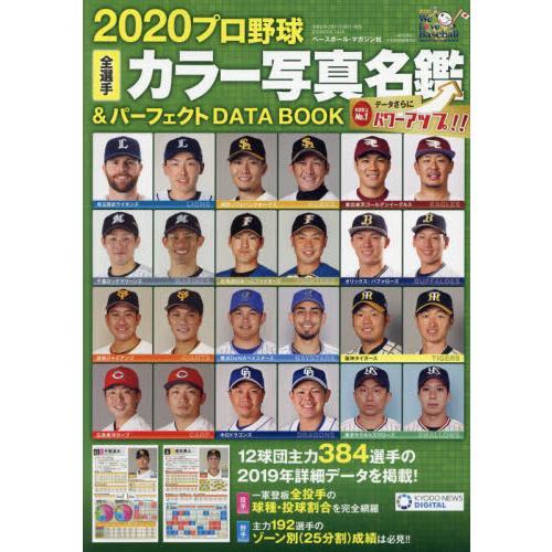 職業棒球全選手彩色寫真名鑑&完美資料書2020年版