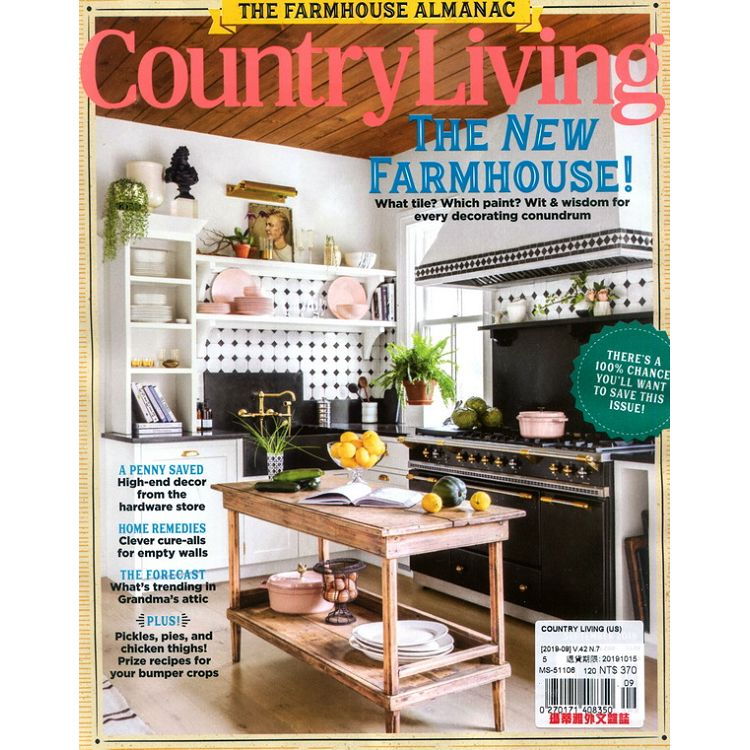 COUNTRY LIVING (UK) 9月號_2019