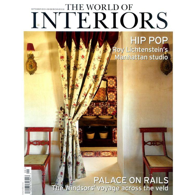 THE WORLD OF INTERIORS 9月號_2019