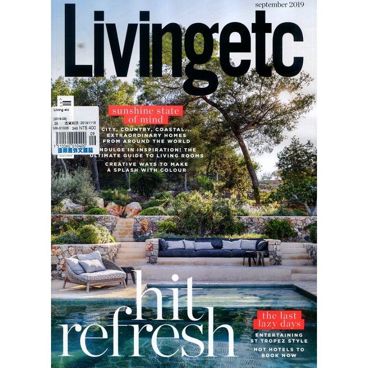 Living etc 9月號_2019