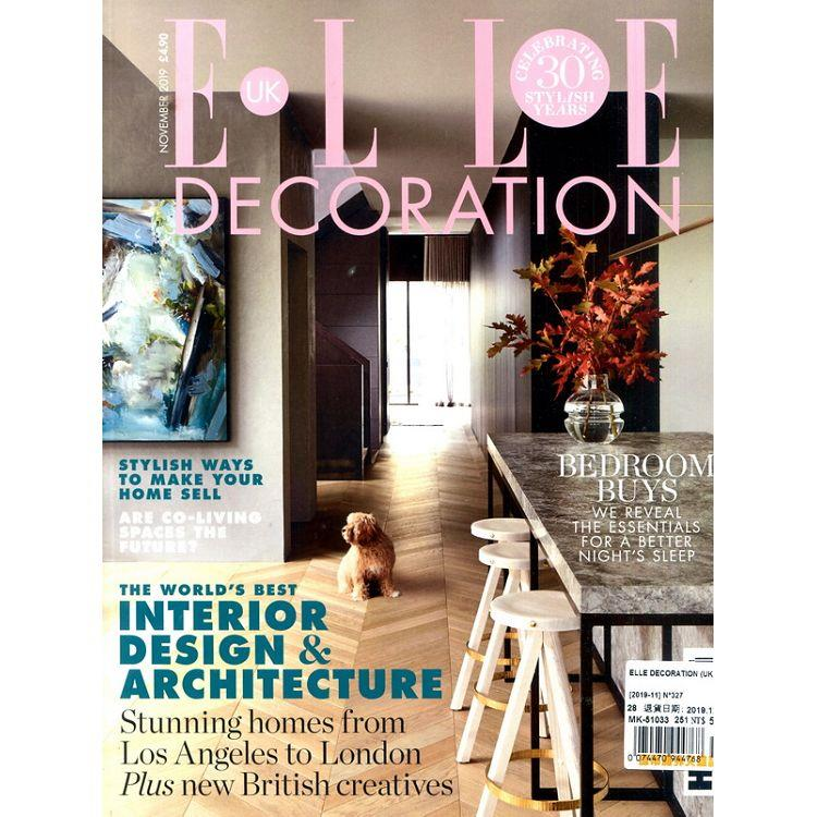 ELLE DECORATION (UK) 第327期 11月號_2019