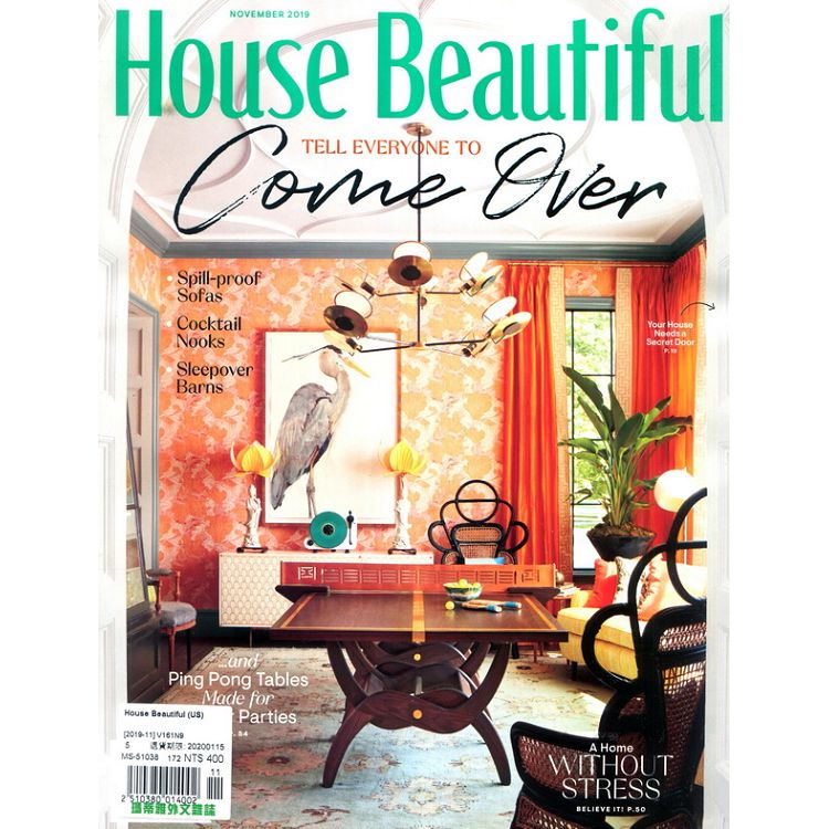 House Beautiful (US) 11月號_2019
