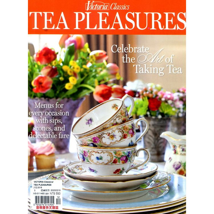 VICTORIA Classics_ TEA PLEASURES 2019